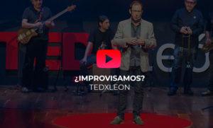 Improvisamos TEDx León speaker Héctor Robles