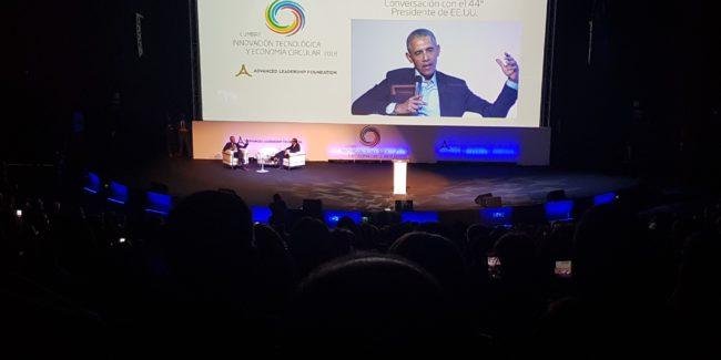 Hector Robles Obama Lider Cumbre innovacion economia circular