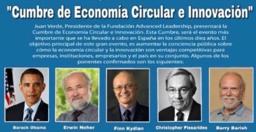 Hector Robles economía circular innovacion Obama