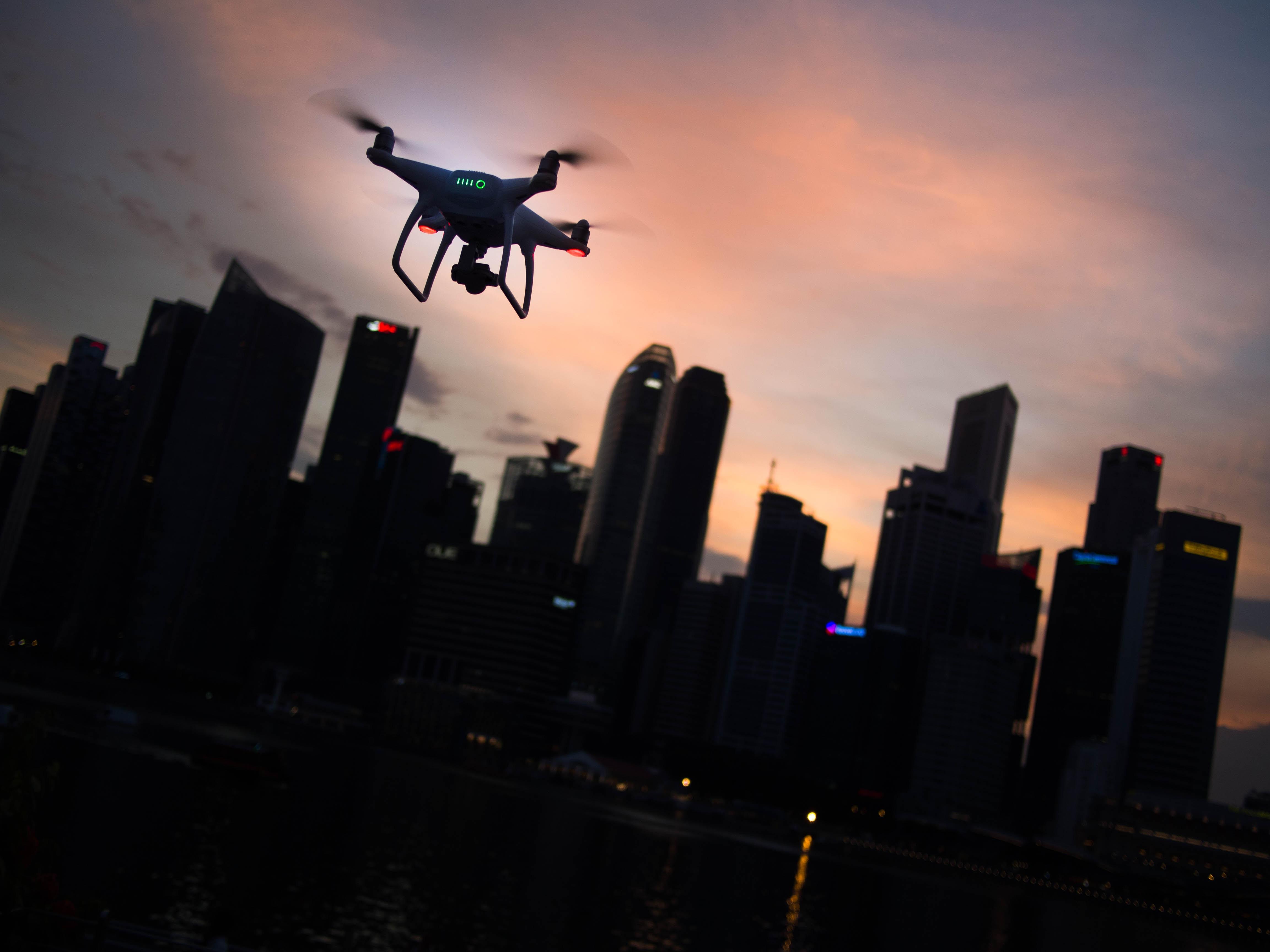 Hector Robles drones innovación