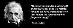 Hector Robles intuicion innovacion Einstein