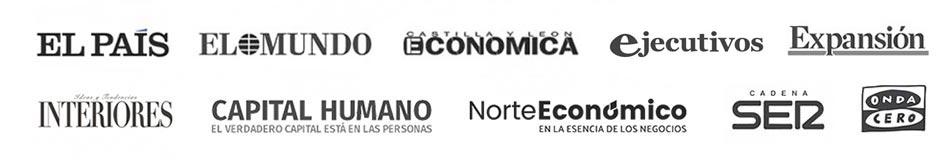 Logos apariciones media Héctor Robles