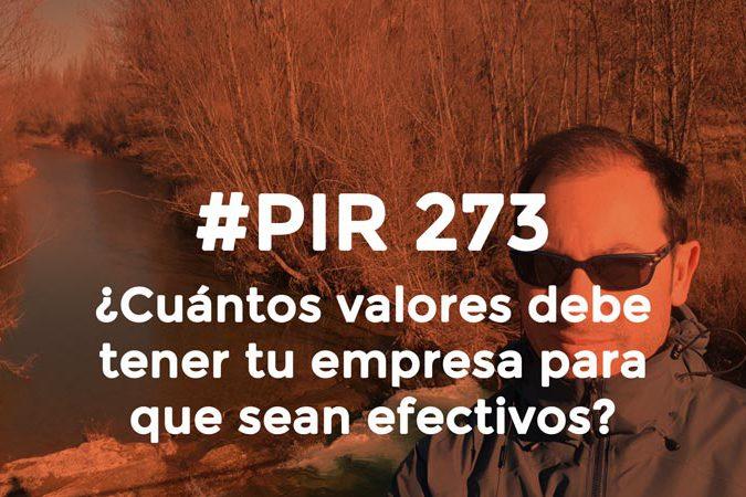 Héctor Robles valores de tu empresa