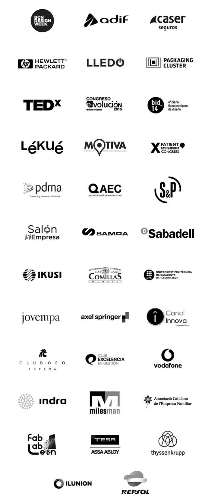 Logos clientes Héctor Robles